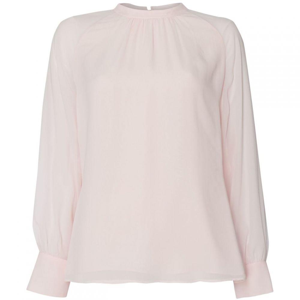 マックスマーラ Max Mara Studio レディース ブラウス・シャツ トップス【Placido long sleeve blouse】Pink