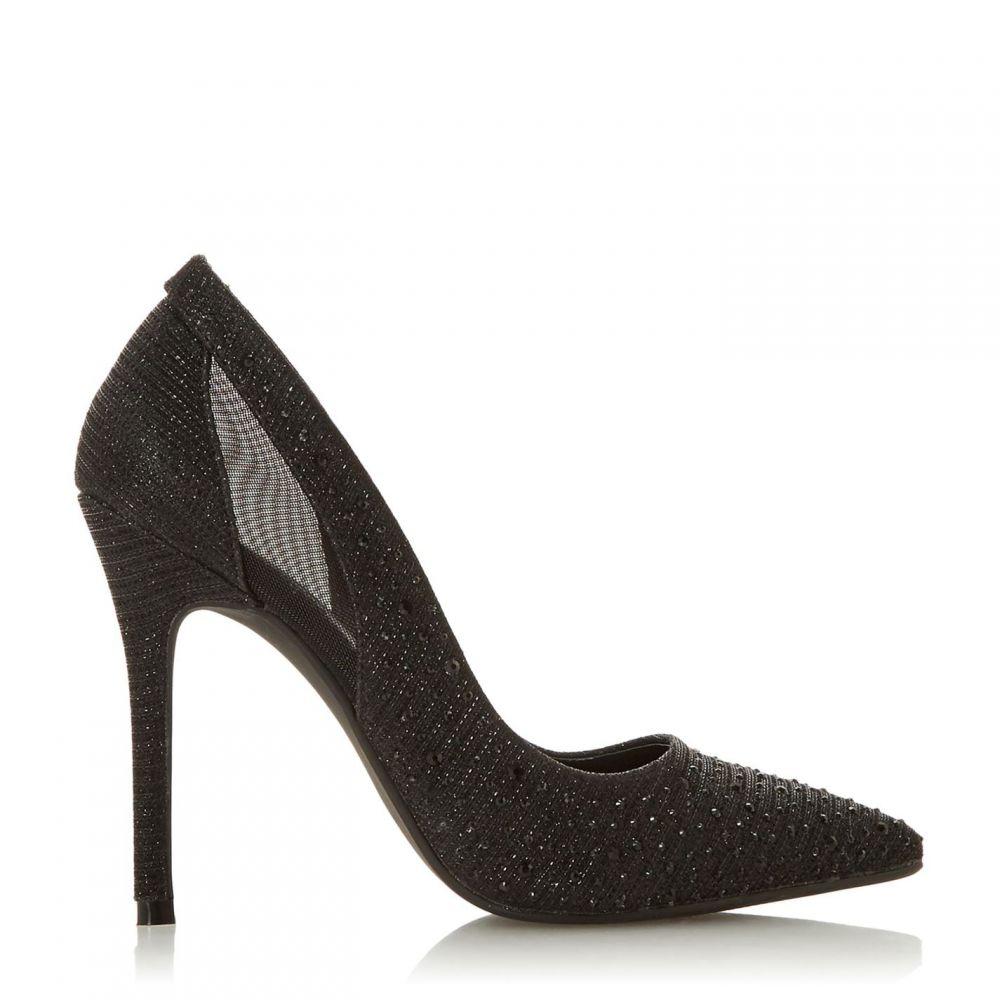 ヘッドオーバーヒールズ Head Over Heels レディース パンプス シューズ・靴【Avayah Diamante Point Court Shoes】Black
