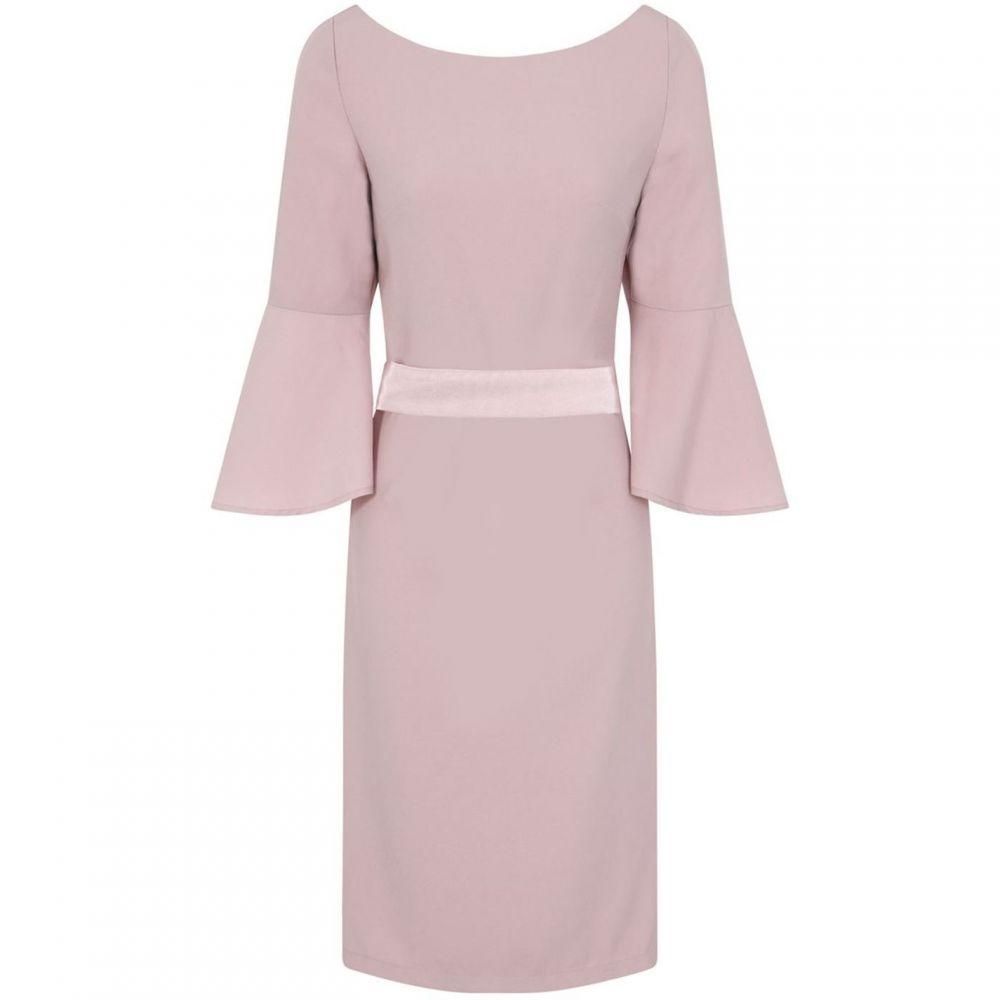 チチ Chi Chi レディース ワンピース ミドル丈 ワンピース・ドレス【Open Bow Back Detail Midi Dress】Pink