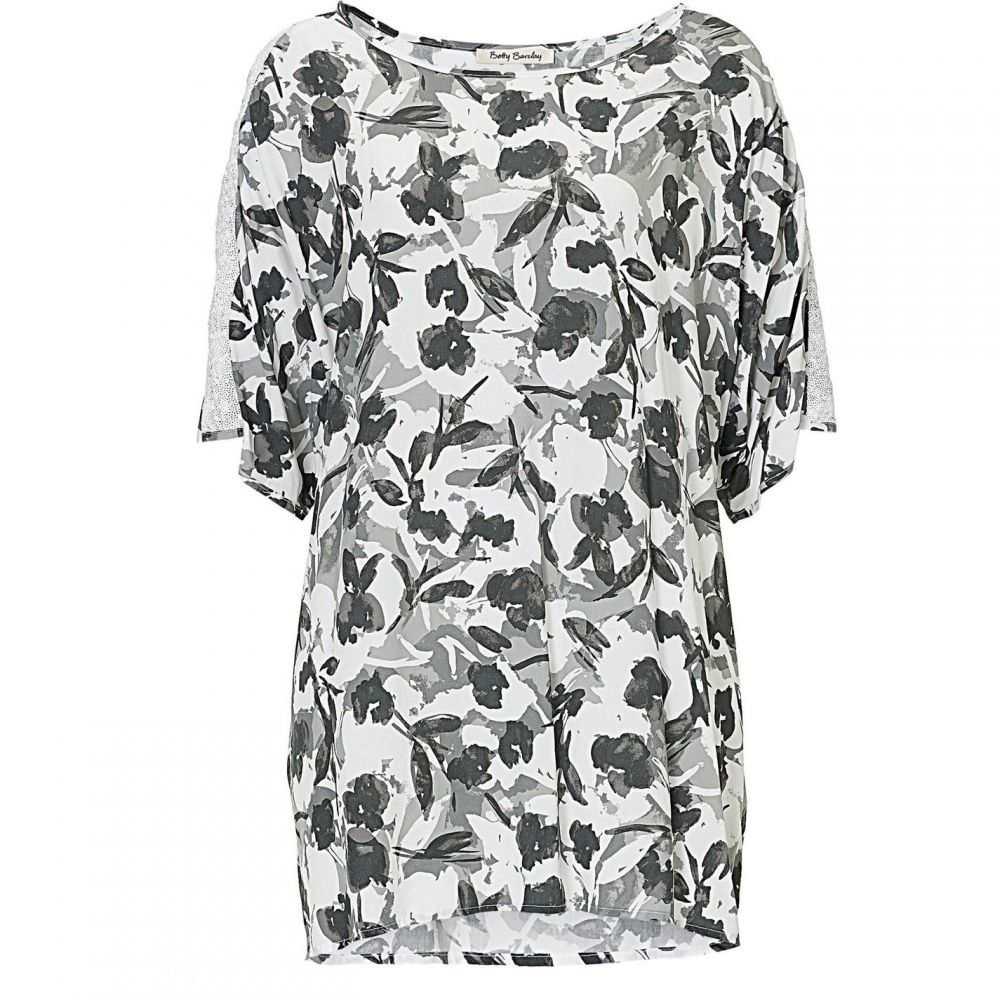 ベティー バークレイ Betty Barclay レディース チュニック トップス【Floral print tunic top】Grey