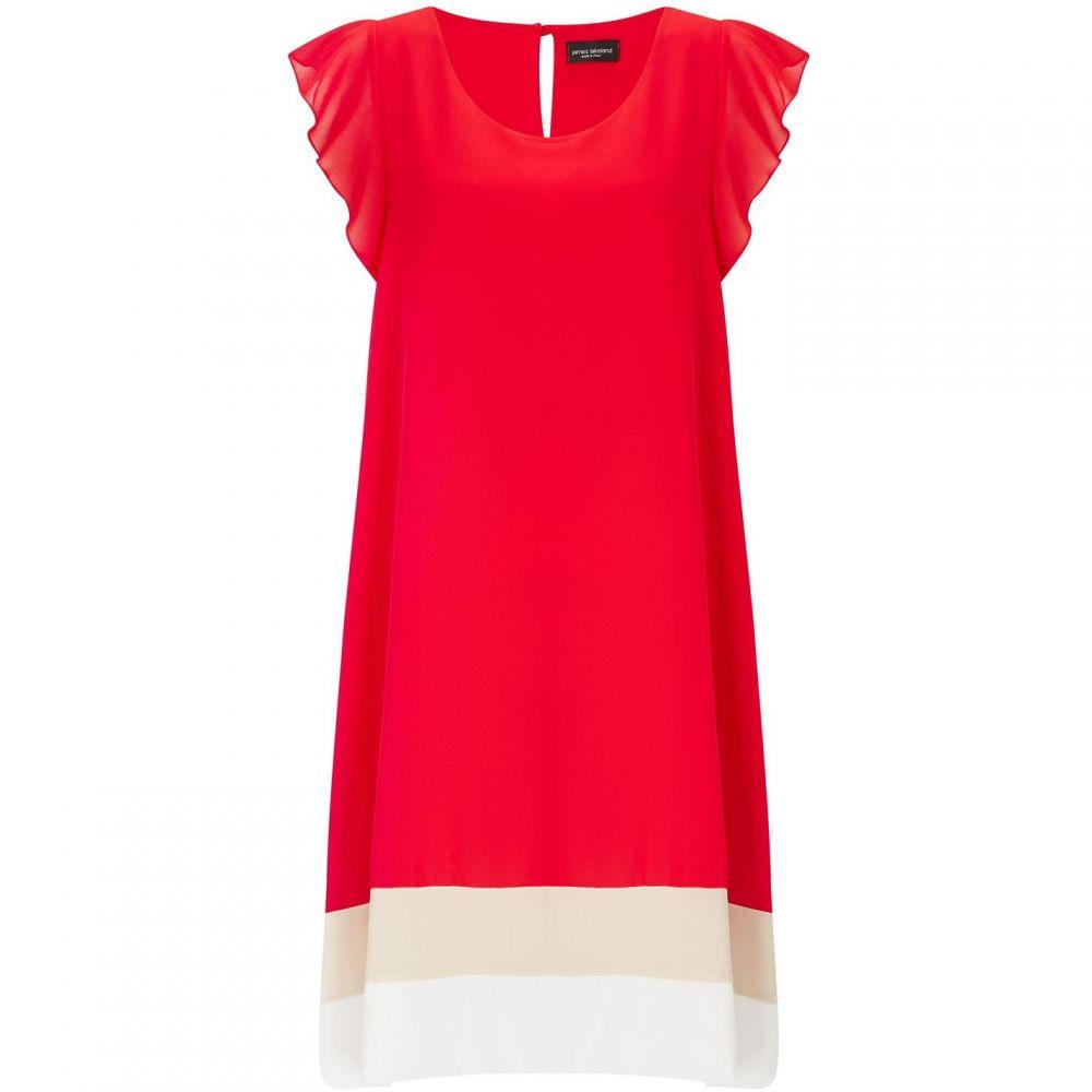 ジュームズ レイクランド James Lakeland レディース ワンピース ワンピース・ドレス【3 Colour Dress】Coral