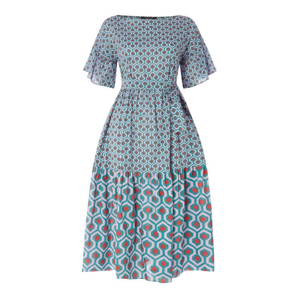 マックスマーラ Max Mara Weekend レディース ワンピース ワンピース・ドレス【MMW Sansone Dress】Turquoise