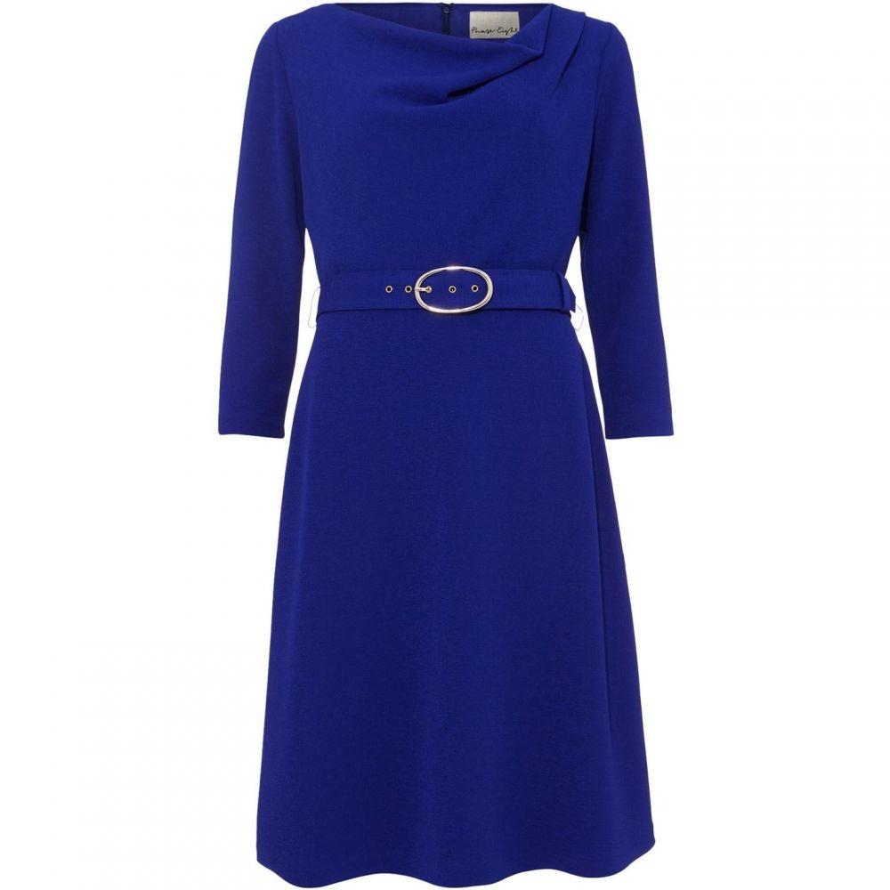 フェイズ エイト Phase Eight レディース ワンピース ワンピース・ドレス【Annette Cowl Neck Swing Dress】Cobalt