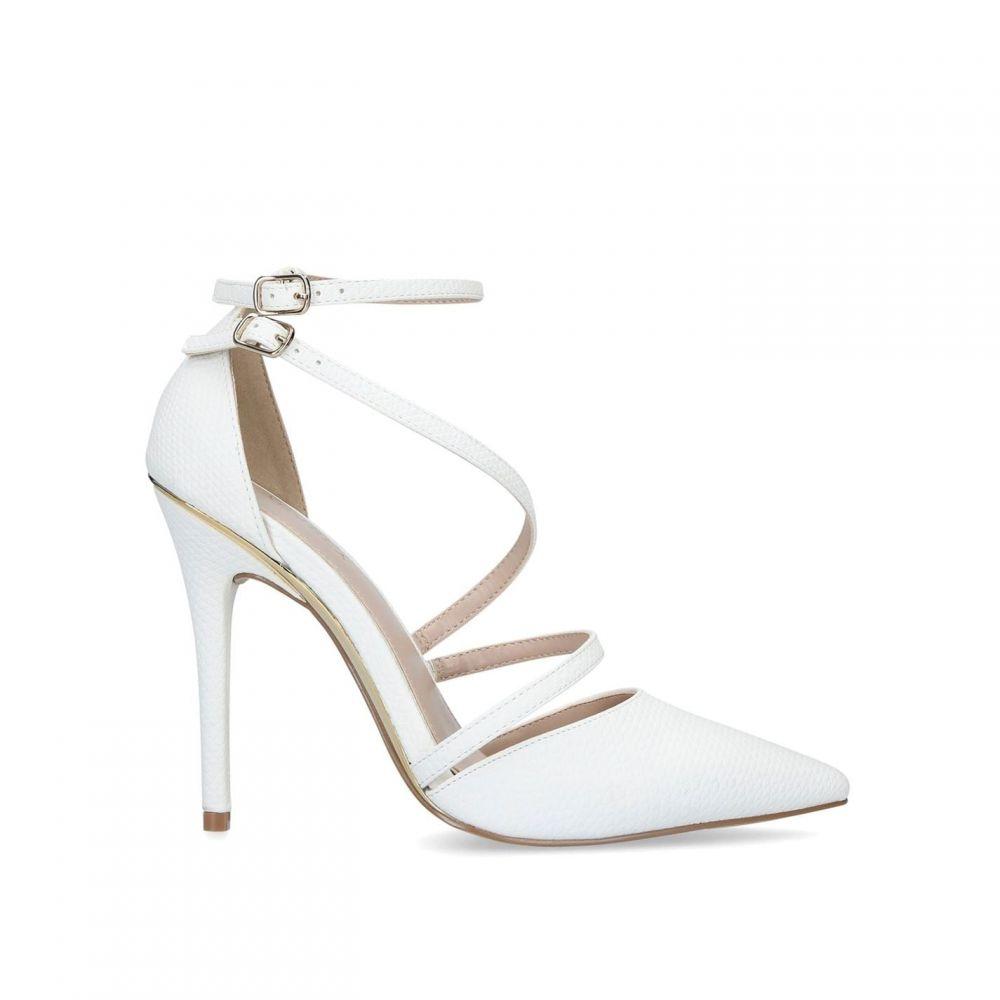 カーベラ Carvela レディース パンプス シューズ・靴【Krafty Courts】WHITE