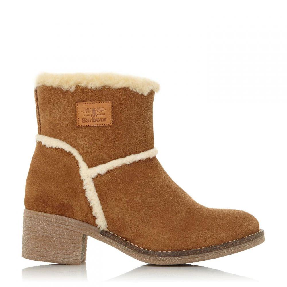 バブアー Barbour Lifestyle レディース ブーツ シューズ・靴【Frankie1 Warm Lined Heeled Boots】Tan