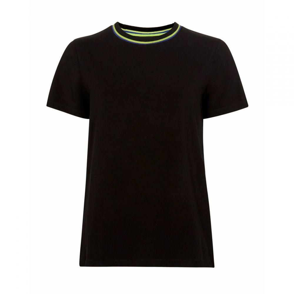 テッドベーカー Ted Baker レディース Tシャツ トップス【Jerila Printed Back T-Shirt】BLACK