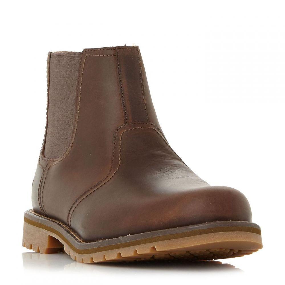 ティンバーランド Timberland メンズ ブーツ チェルシーブーツ チャンキーヒール シューズ・靴【A10Jf Chunky Chelsea Boots】Brown