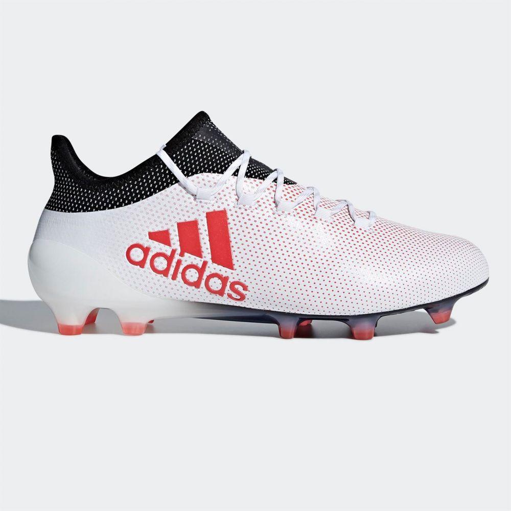 アディダス adidas メンズ サッカー ブーツ シューズ・靴【X 17.1 FG Football Boots】White/Coral/Blk