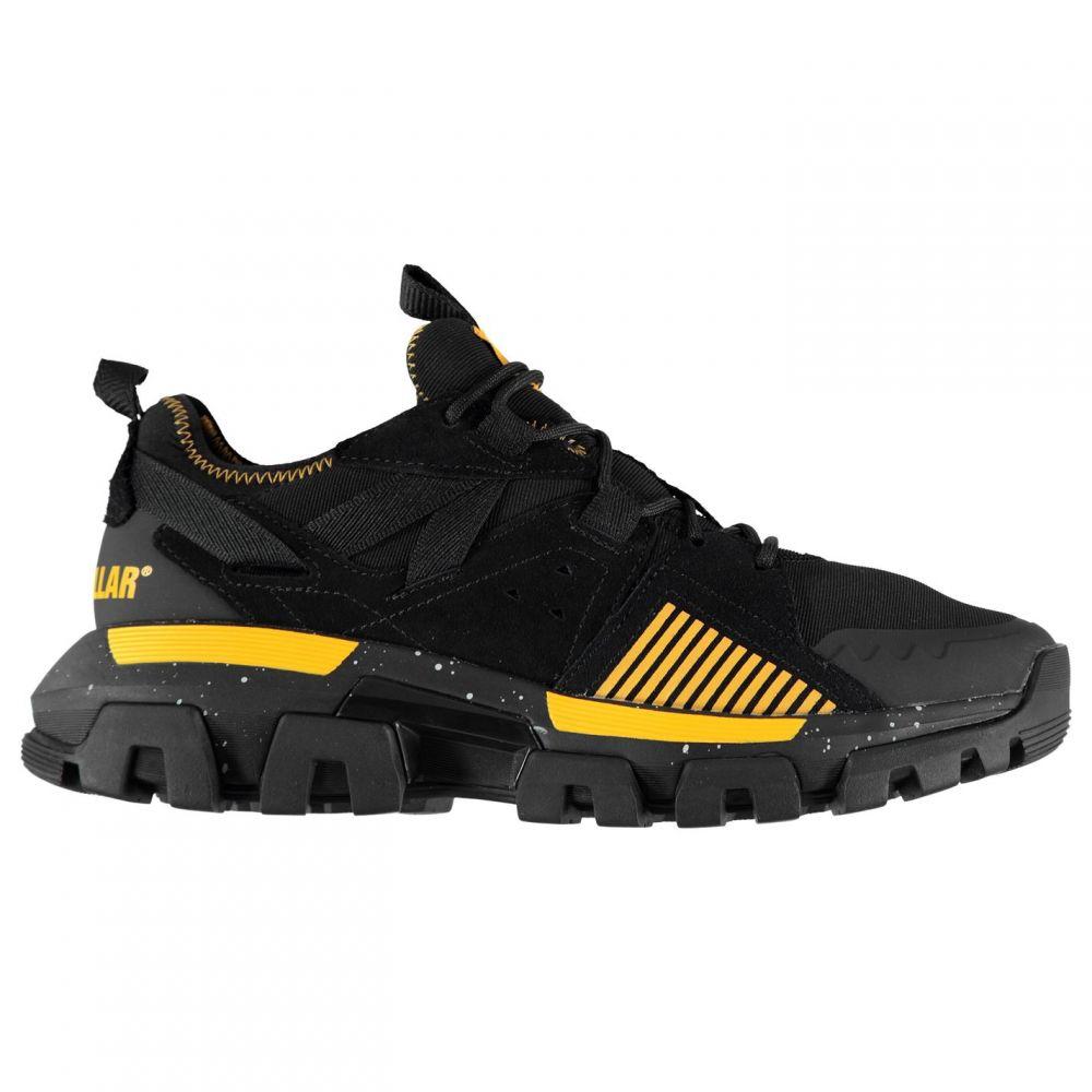キャピタラー カジュアル Caterpillar メンズ スニーカー シューズ・靴【Raider Sport Trainers】Black/Yellow