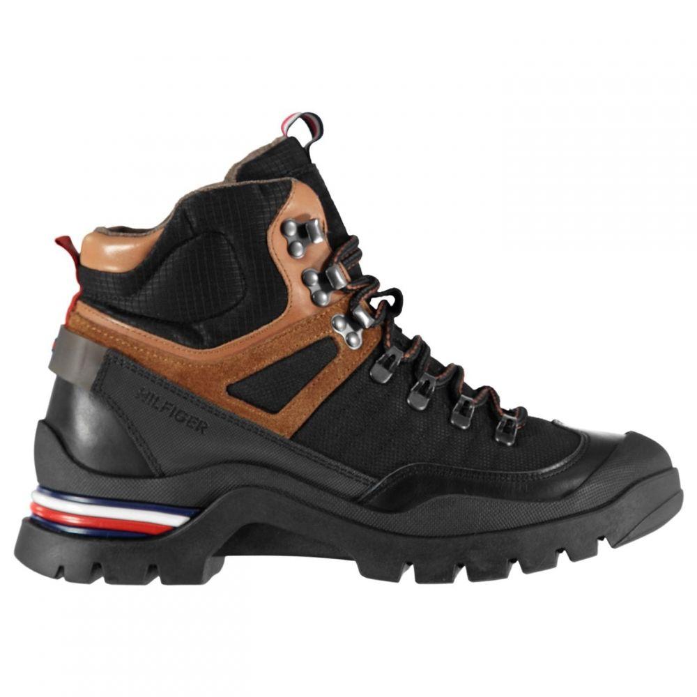 トミー ヒルフィガー Tommy Hilfiger メンズ ブーツ シューズ・靴【Mixed Material Boots】Black BDS