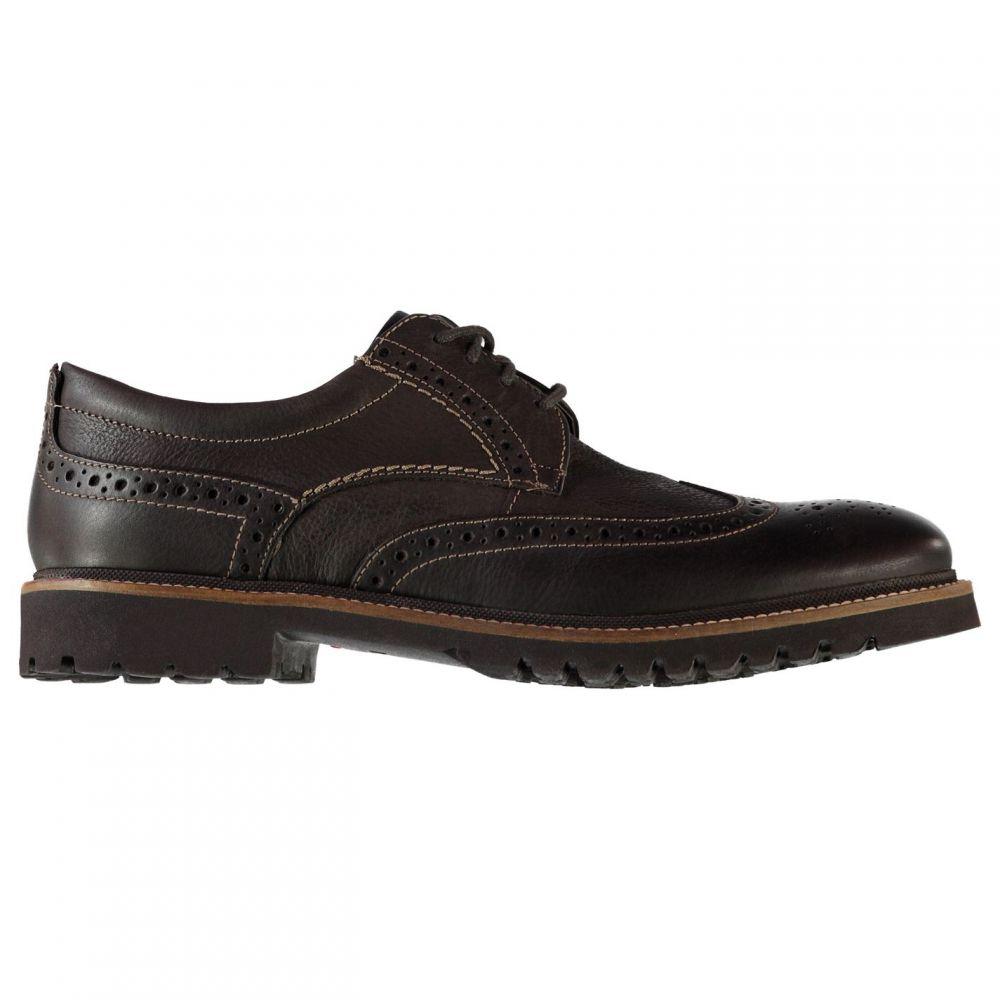 ロックポート Rockport メンズ 革靴・ビジネスシューズ メダリオン シューズ・靴【Marsh Wing Brogues】Dark Choc