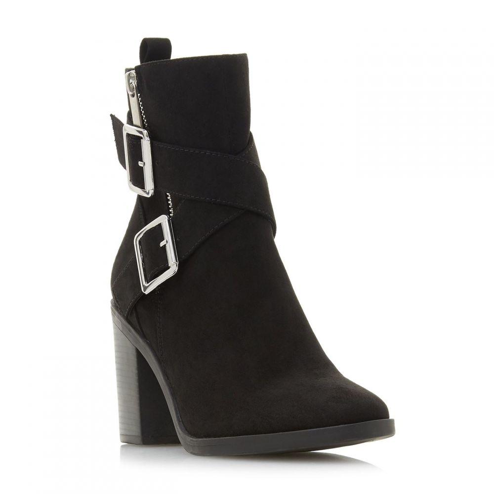 ヘッドオーバーヒールズ Head Over Heels レディース ブーツ シューズ・靴【Oblyx Buckle Strap Boots】Black