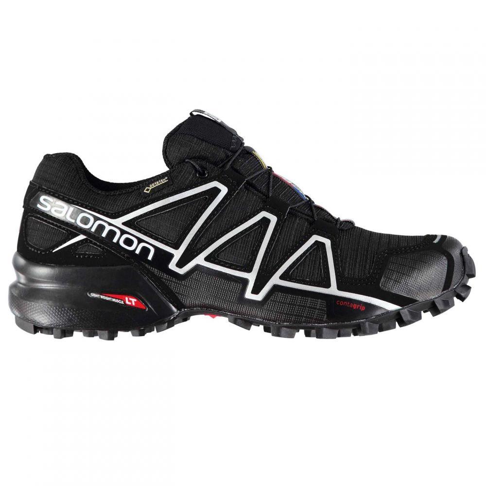サロモン Salomon メンズ ランニング・ウォーキング シューズ・靴【Speedcross 4 GTX Trail Running Shoes】Black/Black