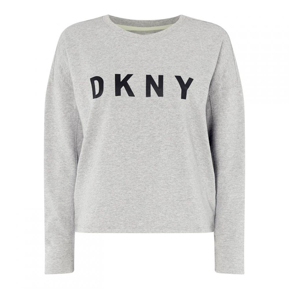 ダナ キャラン ニューヨーク DKNY Sport レディース スウェット・トレーナー トップス【Dolman Logo Sweatshirt】Grey