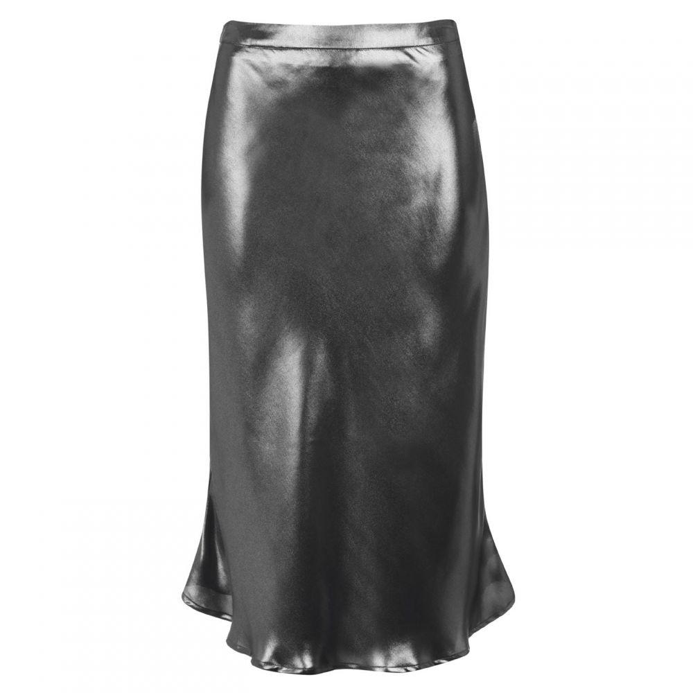 セット SET レディース スカート 【Shiny Skirt】Silver