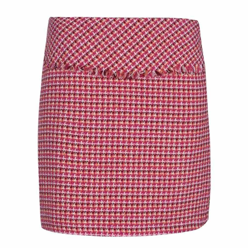イブルース Iblues レディース スカート 【Peseta Skirt】FuchsiaCheck
