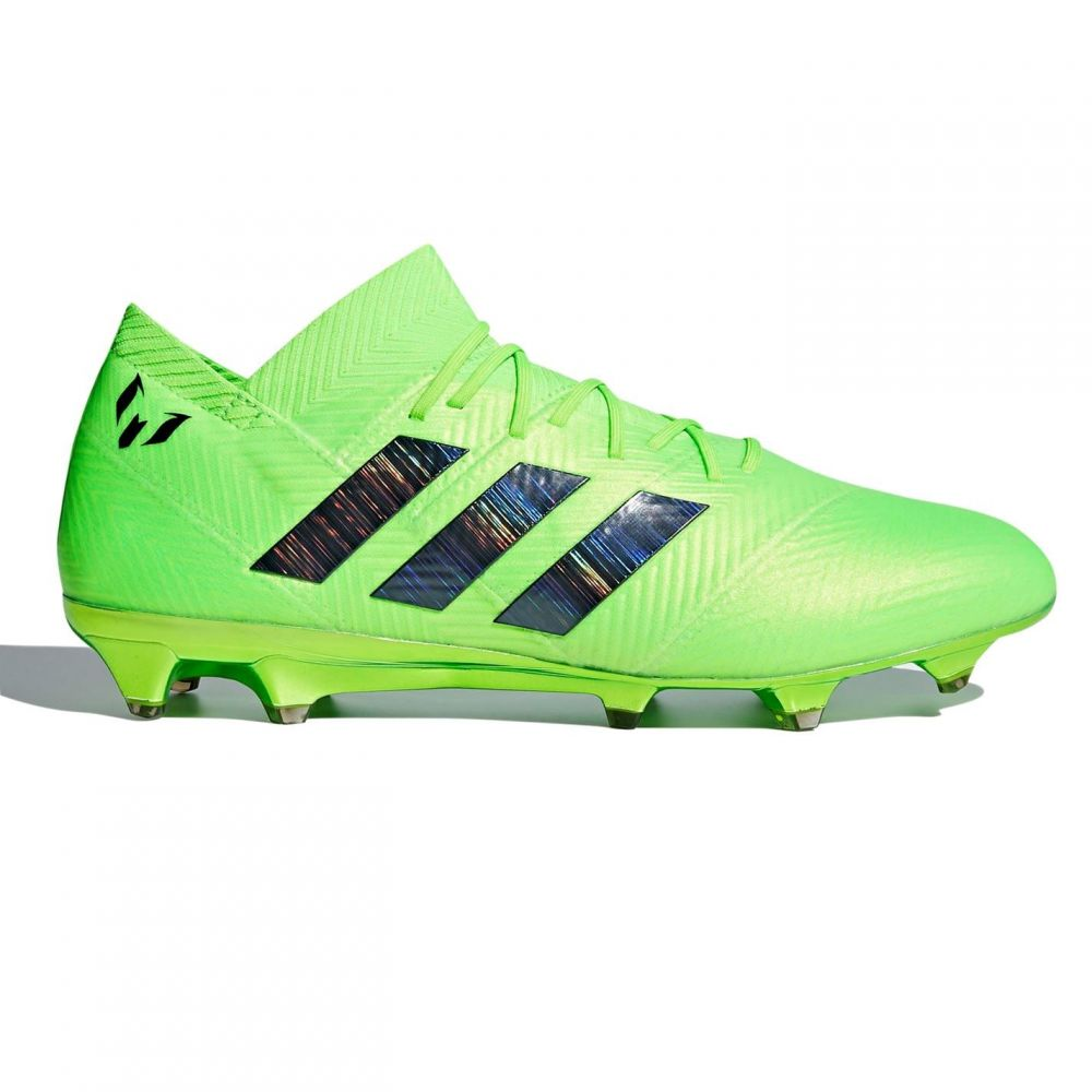 アディダス adidas メンズ サッカー ブーツ シューズ・靴【Nemeziz Messi 18.1 FG Football Boots】SolarGreen/Blk