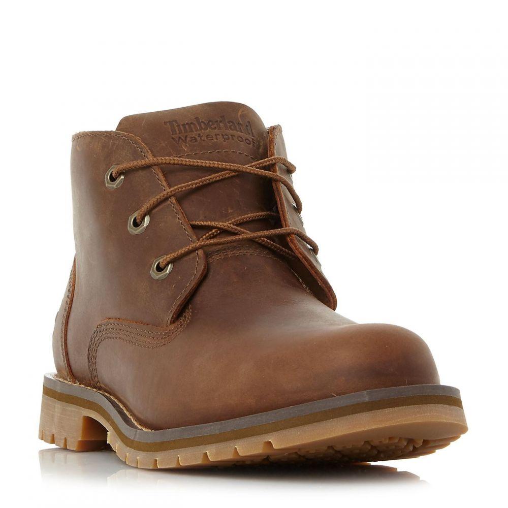 ティンバーランド Timberland メンズ ブーツ チャッカブーツ シューズ・靴【A10Jd 3 Eye Waterproof Chukka Boots】Brown