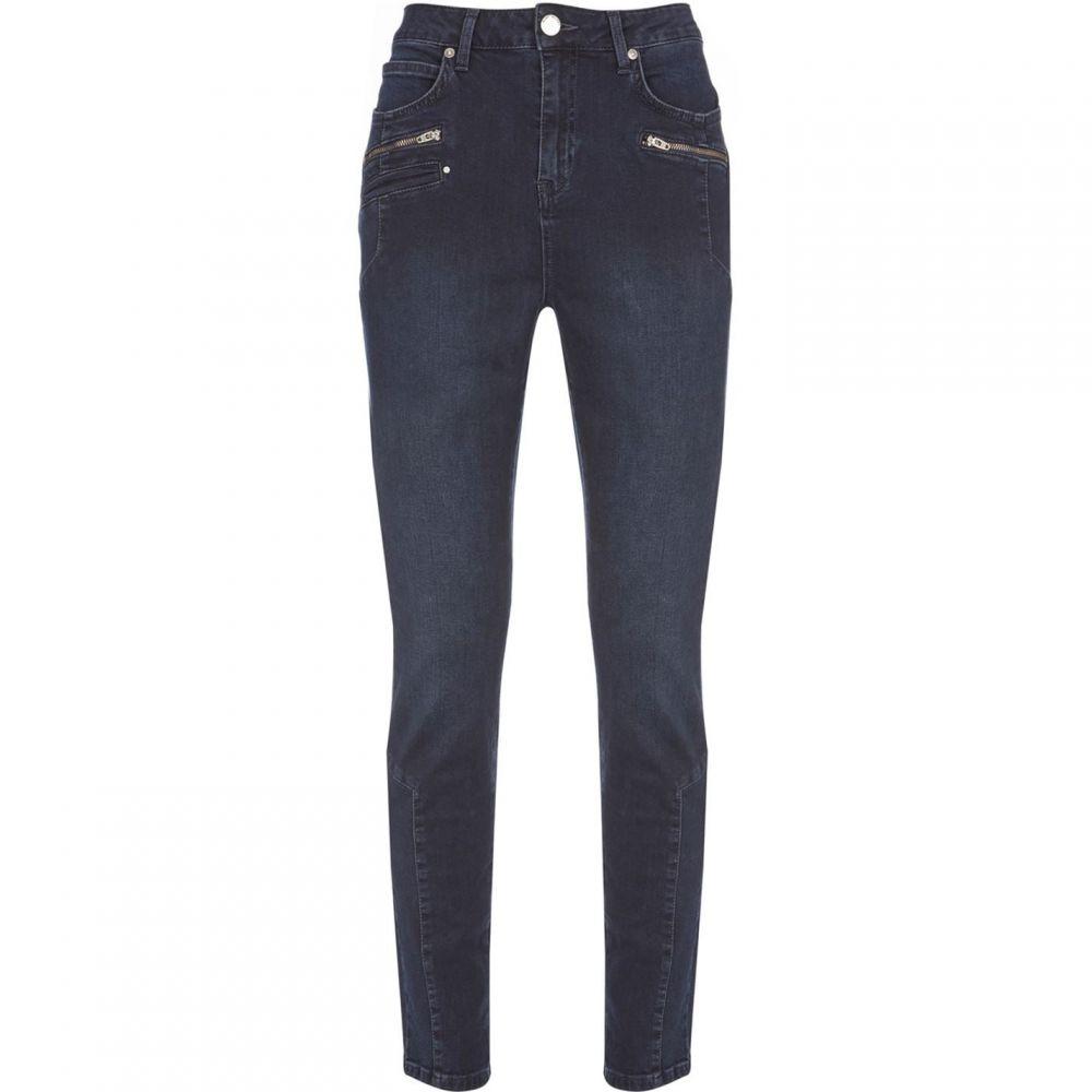 ミルトン ベルベット Mint Velvet レディース ジーンズ・デニム ボトムス・パンツ【Denver Dark Indigo Biker Jeans】Dark Blue
