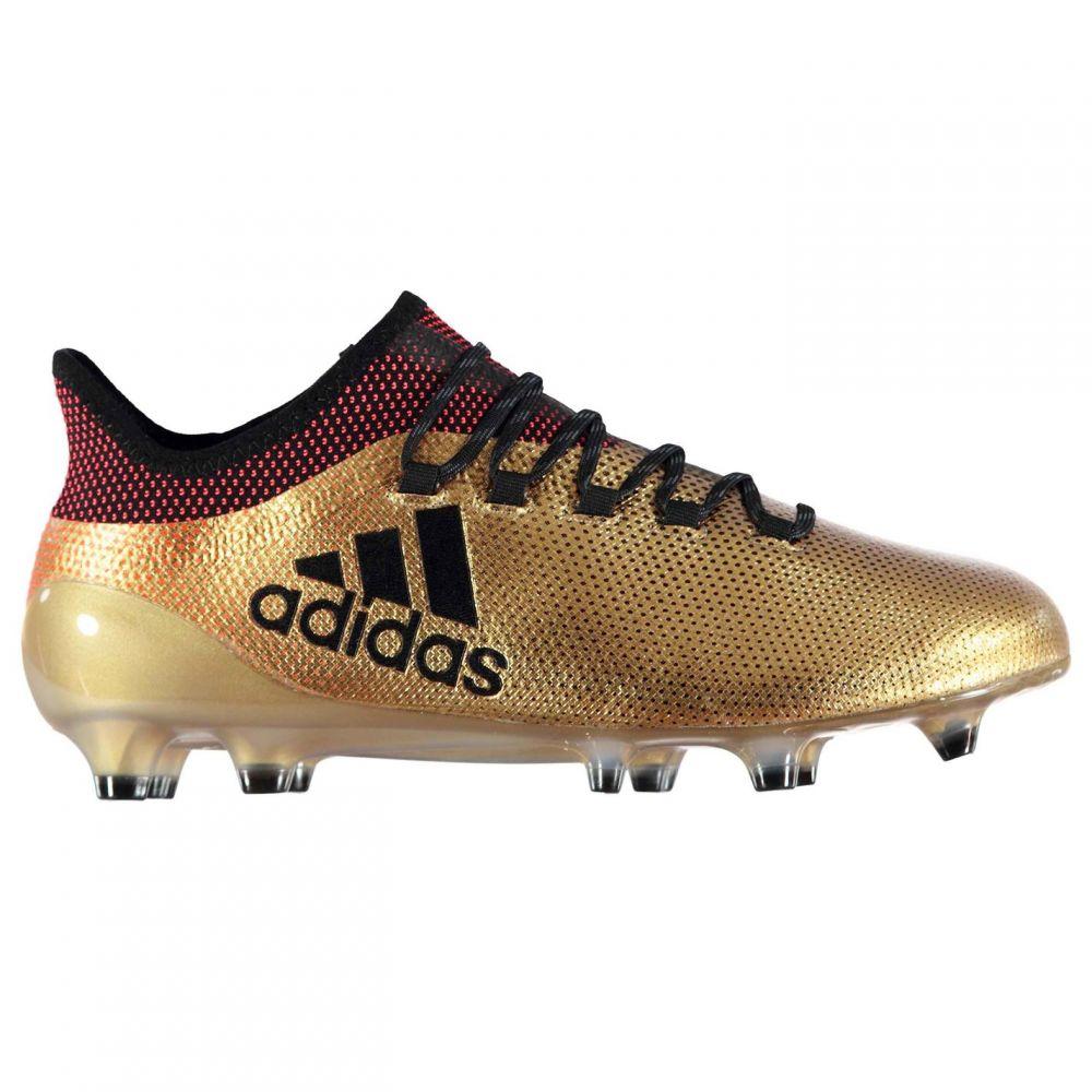 アディダス adidas メンズ サッカー ブーツ シューズ・靴【X 17.1 FG Football Boots】Gold/Black