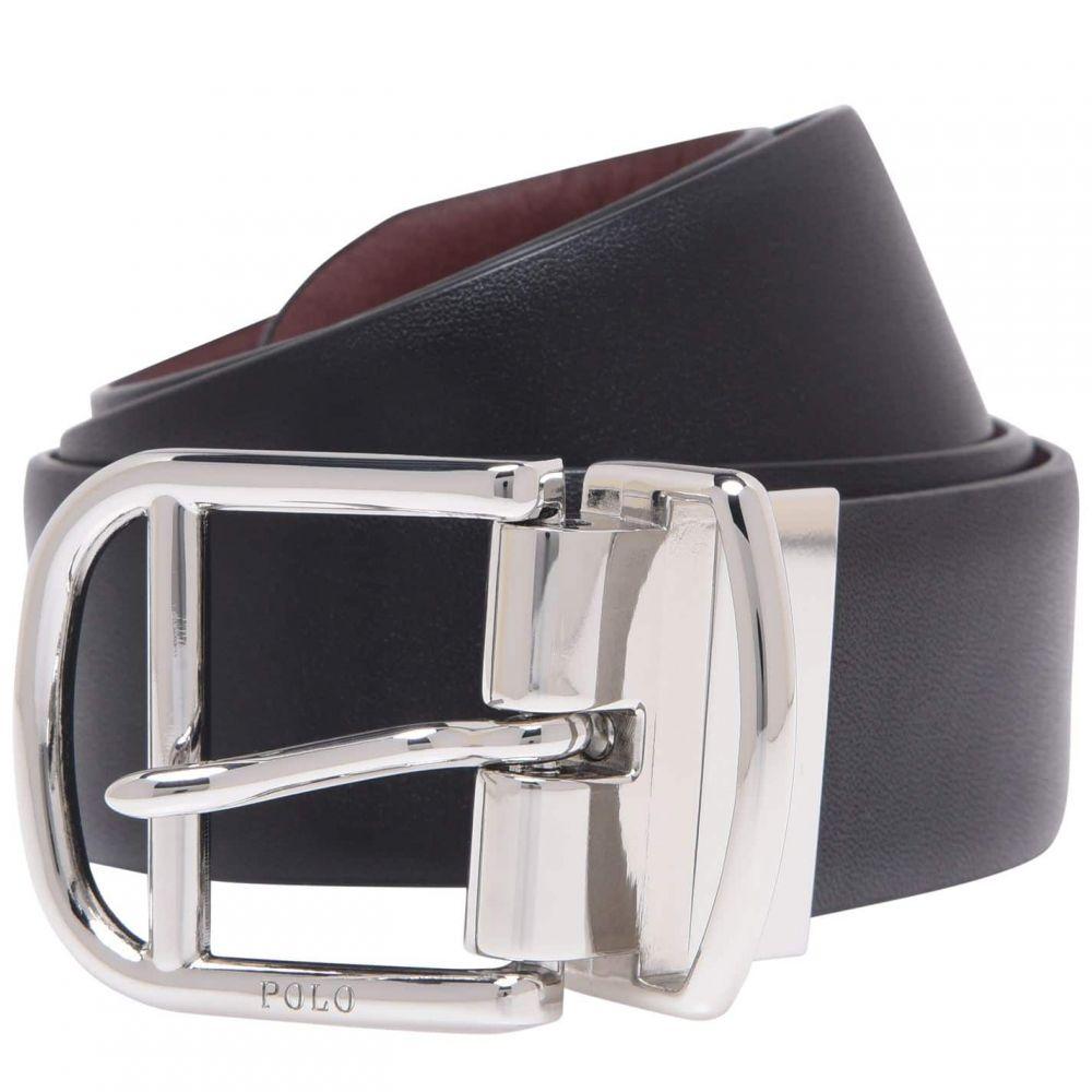 ラルフ ローレン Polo Ralph Lauren メンズ ベルト 【Reverse Leather Belt】Black/Brown