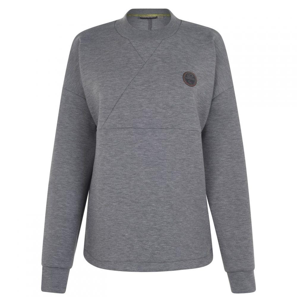 ナパピリ フューチャーウェアー NAPAPIJRI FUTUREWEAR メンズ スウェット・トレーナー トップス【Biel Sweatshirt】Grey Marl