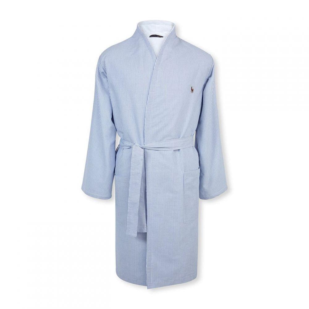ラルフ ローレン Ralph Lauren レディース ガウン・バスローブ インナー・下着【Oxford Kimono】Blue