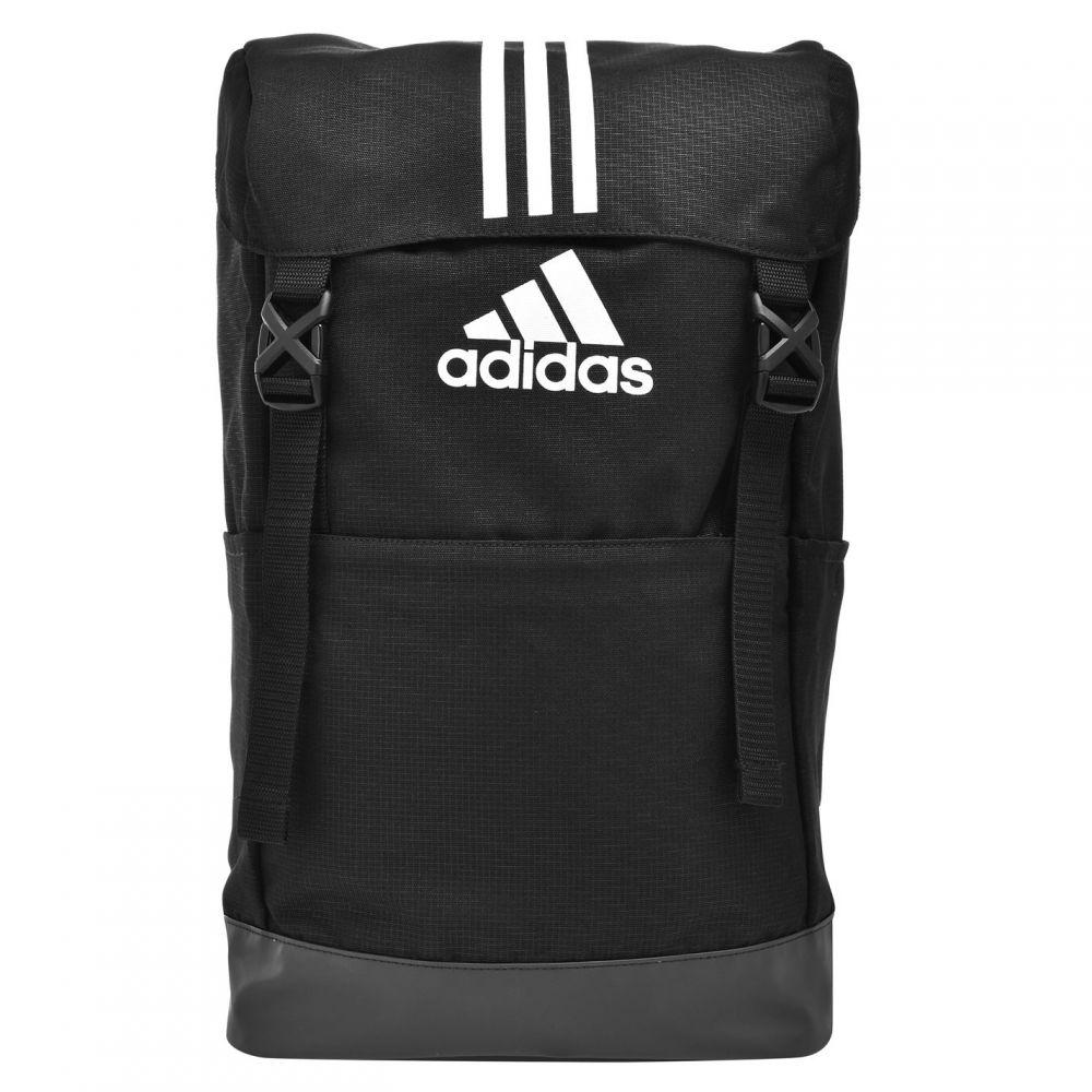 アディダス adidas メンズ バックパック・リュック バッグ【3 Stripe Performance Backpack】Black/White
