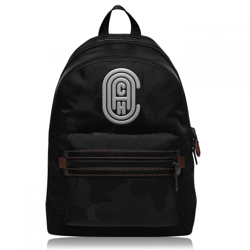 コーチ Coach メンズ バックパック・リュック バッグ【Academy Patch Backpack】Black jimxx