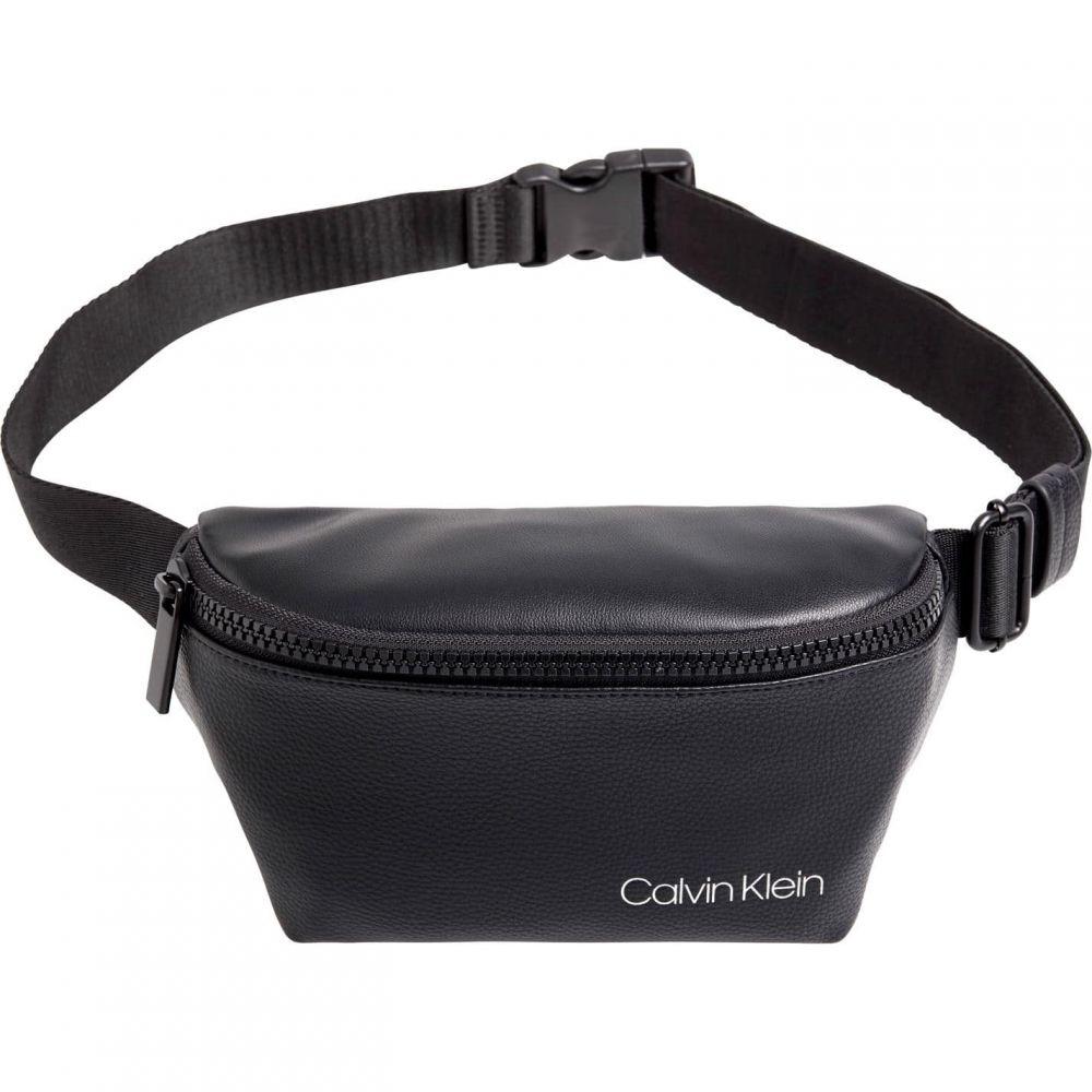 カルバンクライン Calvin Klein ユニセックス ボディバッグ・ウエストポーチ バッグ【CK Direct Bumbag Sn01】Black