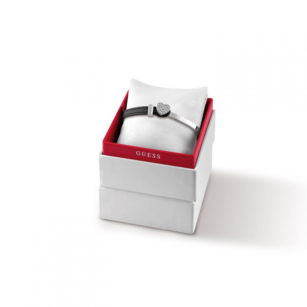 ゲス Guess レディース ブレスレット バングル ジュエリー・アクセサリー【GUESS bangle & leather bracelet】METALLICS
