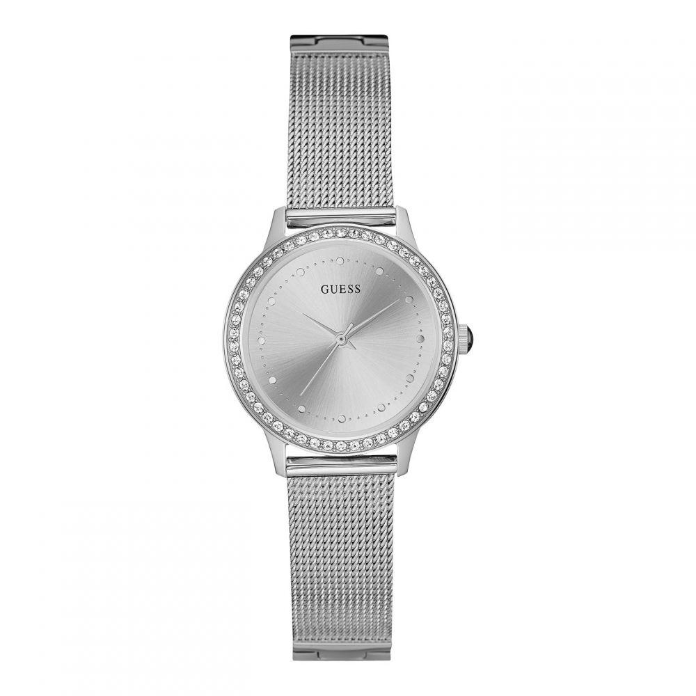 ゲス Guess レディース 腕時計 ブレスレットウォッチ【GUESS silver mesh bracelet watch】METALLICS