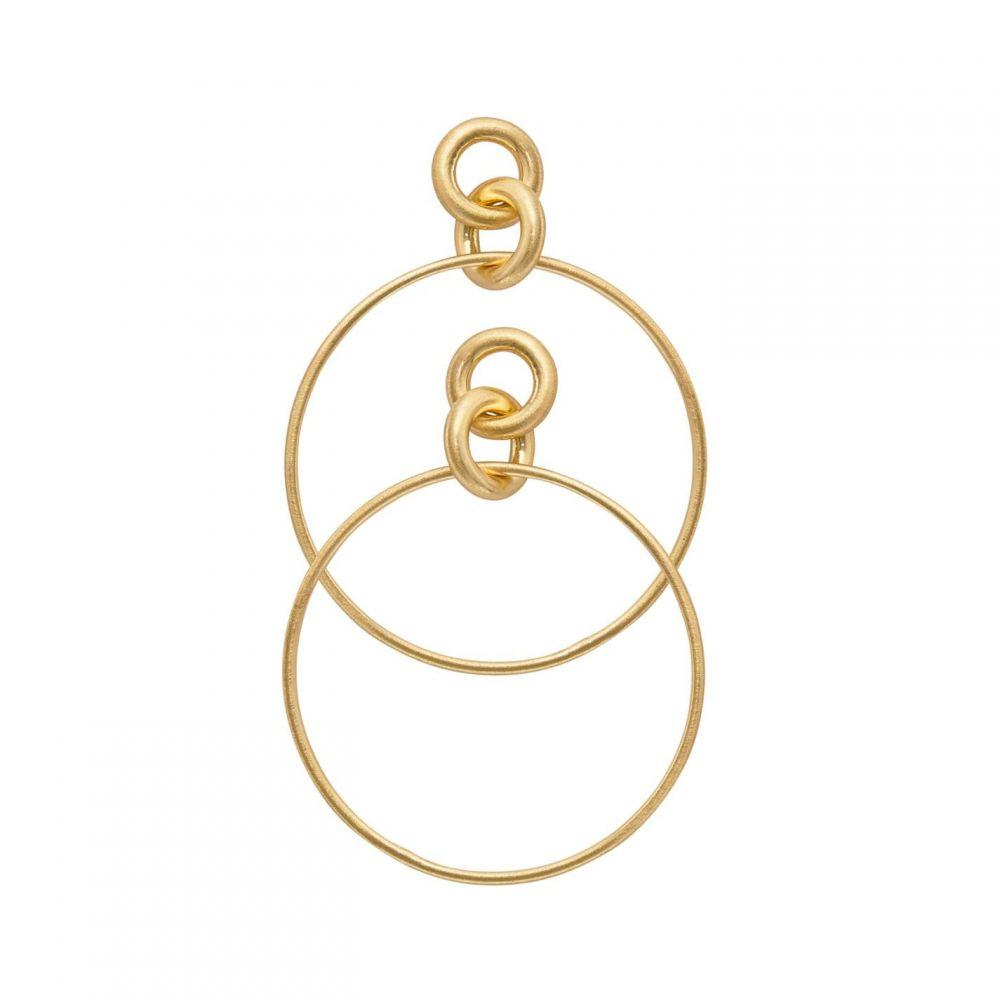 ダンスク Dansk Smykkekunst レディース イヤリング・ピアス フープピアス ジュエリー・アクセサリー【Infinity Hoop Earring】METALLICS