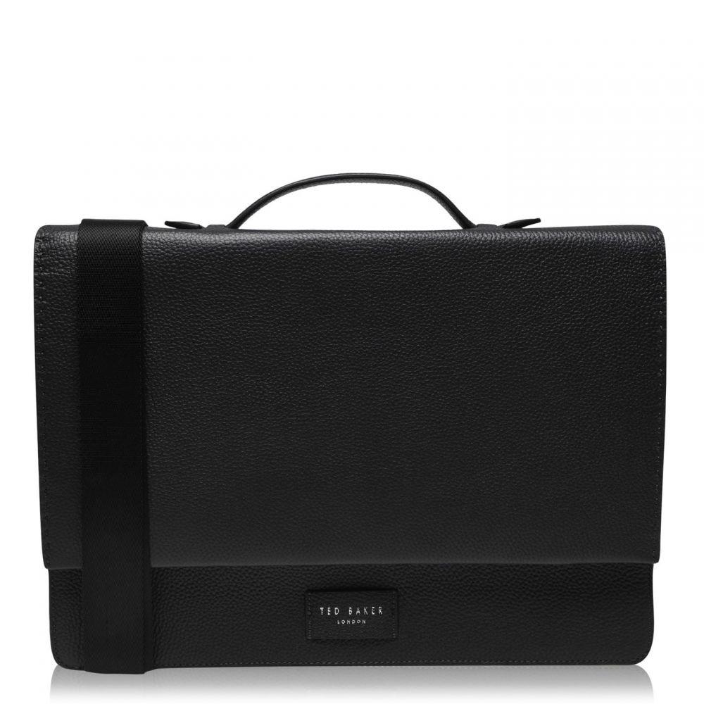 テッドベーカー Ted Baker メンズ メッセンジャーバッグ バッグ【Housed Leather Messenger Bag】NAVY