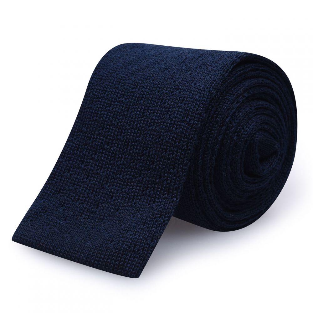 ヒューゴ ボス Hugo メンズ ネクタイ 【Knitted Tie Sn02】Dark Blue