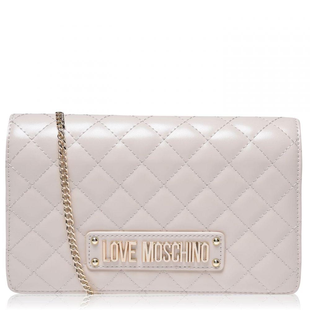 モスキーノ Love Moschino レディース クラッチバッグ バッグ【LM Superquilt Clutch】White