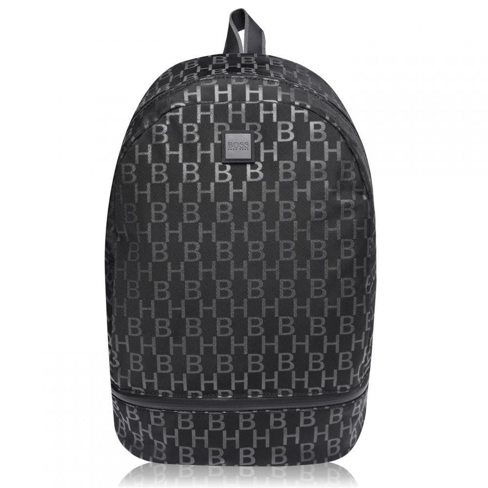 ヒューゴ ボス Boss メンズ バックパック・リュック バッグ【Pixel Print Backpack】Black