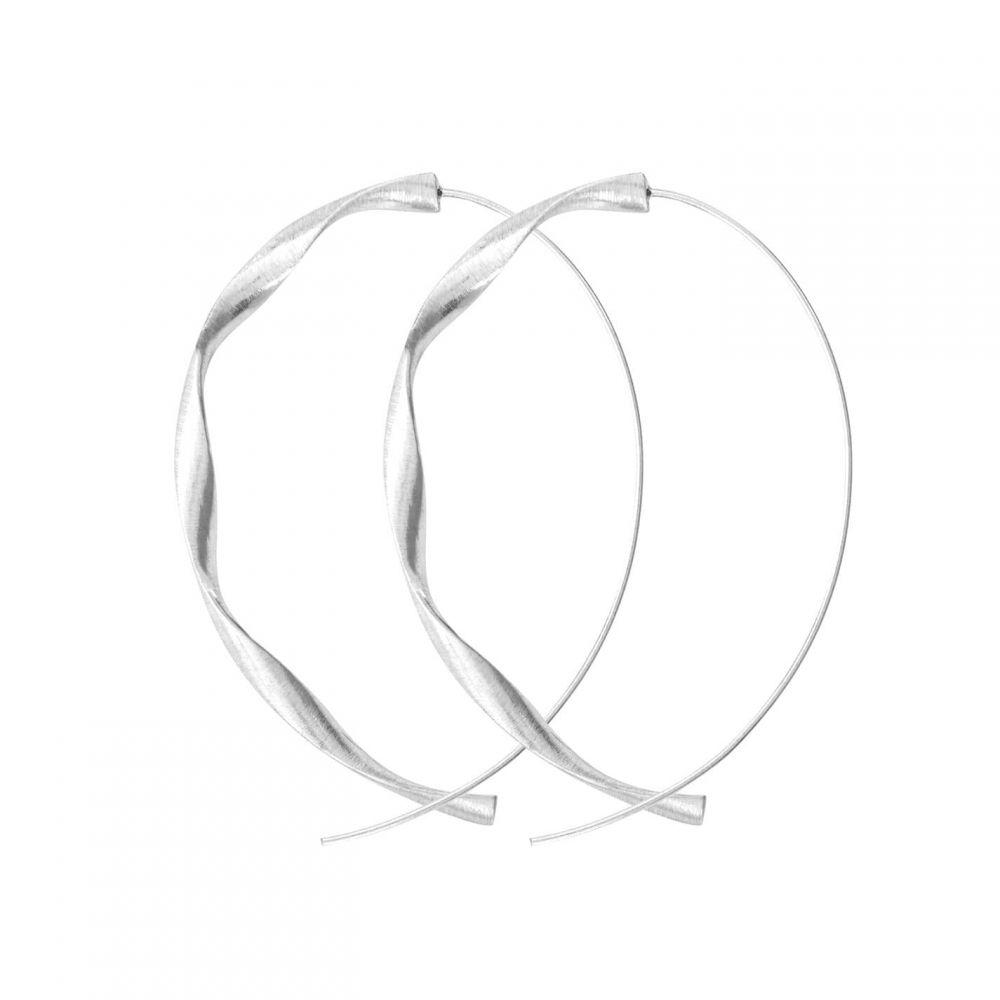 ダンスク Dansk Smykkekunst レディース イヤリング・ピアス ジュエリー・アクセサリー【Tara Twirl Earring】METALLICS