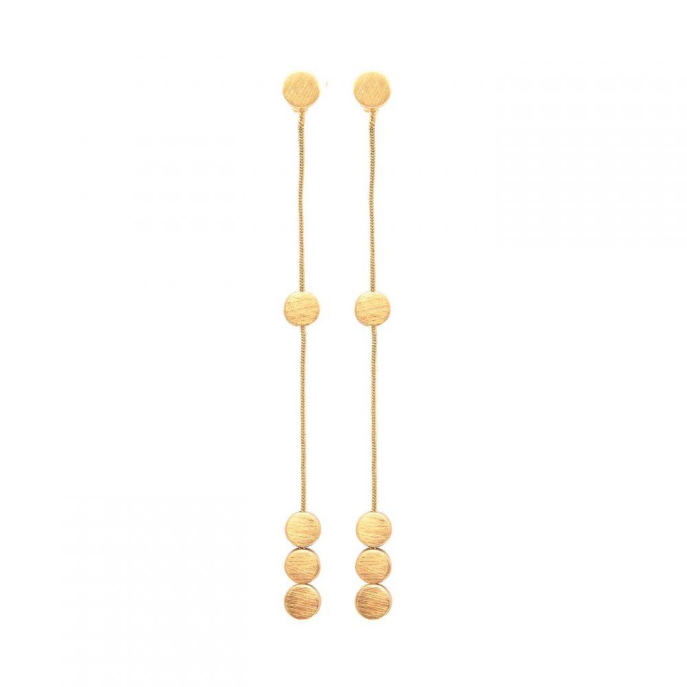 ダンスク Dansk Smykkekunst レディース イヤリング・ピアス ドロップピアス ジュエリー・アクセサリー【Vanity Drop Earrings】METALLICS