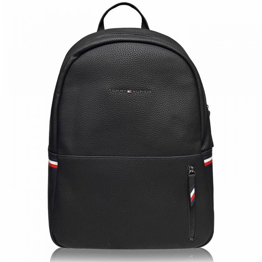 トミー ヒルフィガー Tommy Hilfiger メンズ バックパック・リュック バッグ【Tommy Ess Backpack Sn00】Black BDS