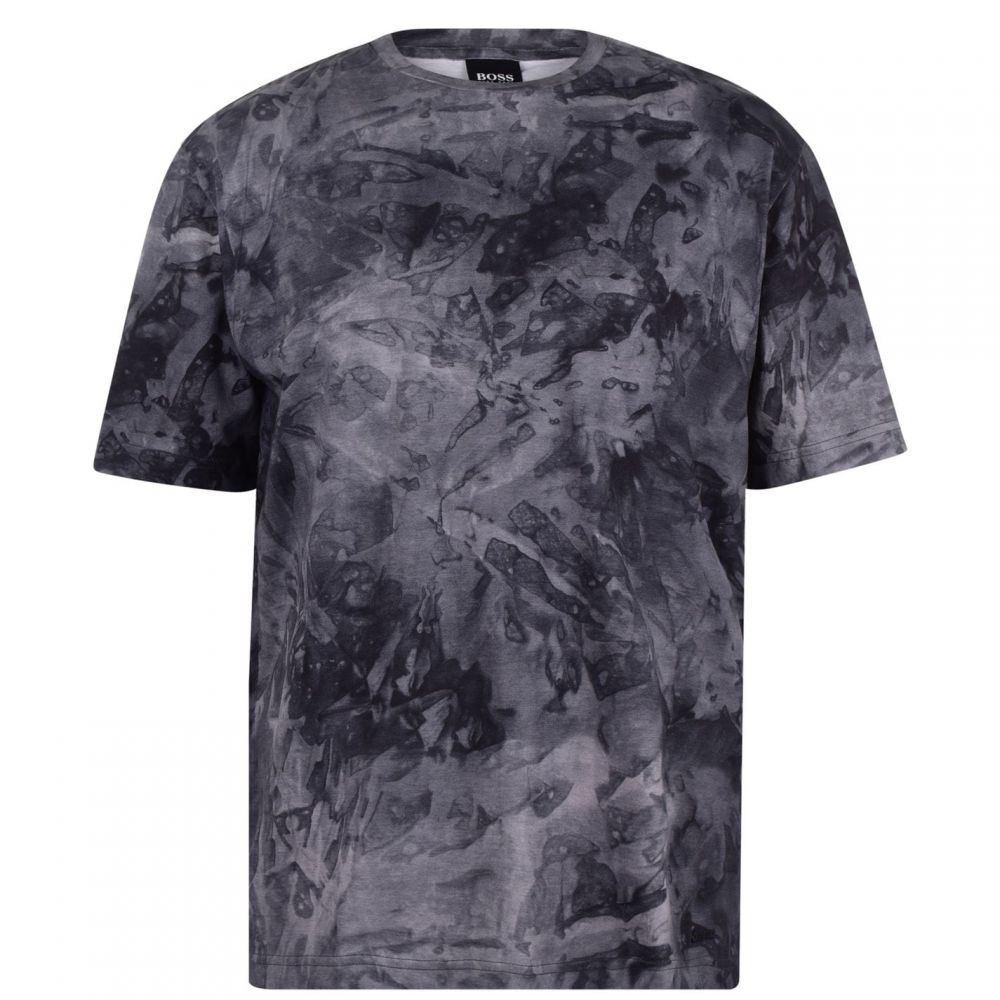 ヒューゴ ボス BOSS メンズ Tシャツ トップス【Taive Camo T Shirt】Navy