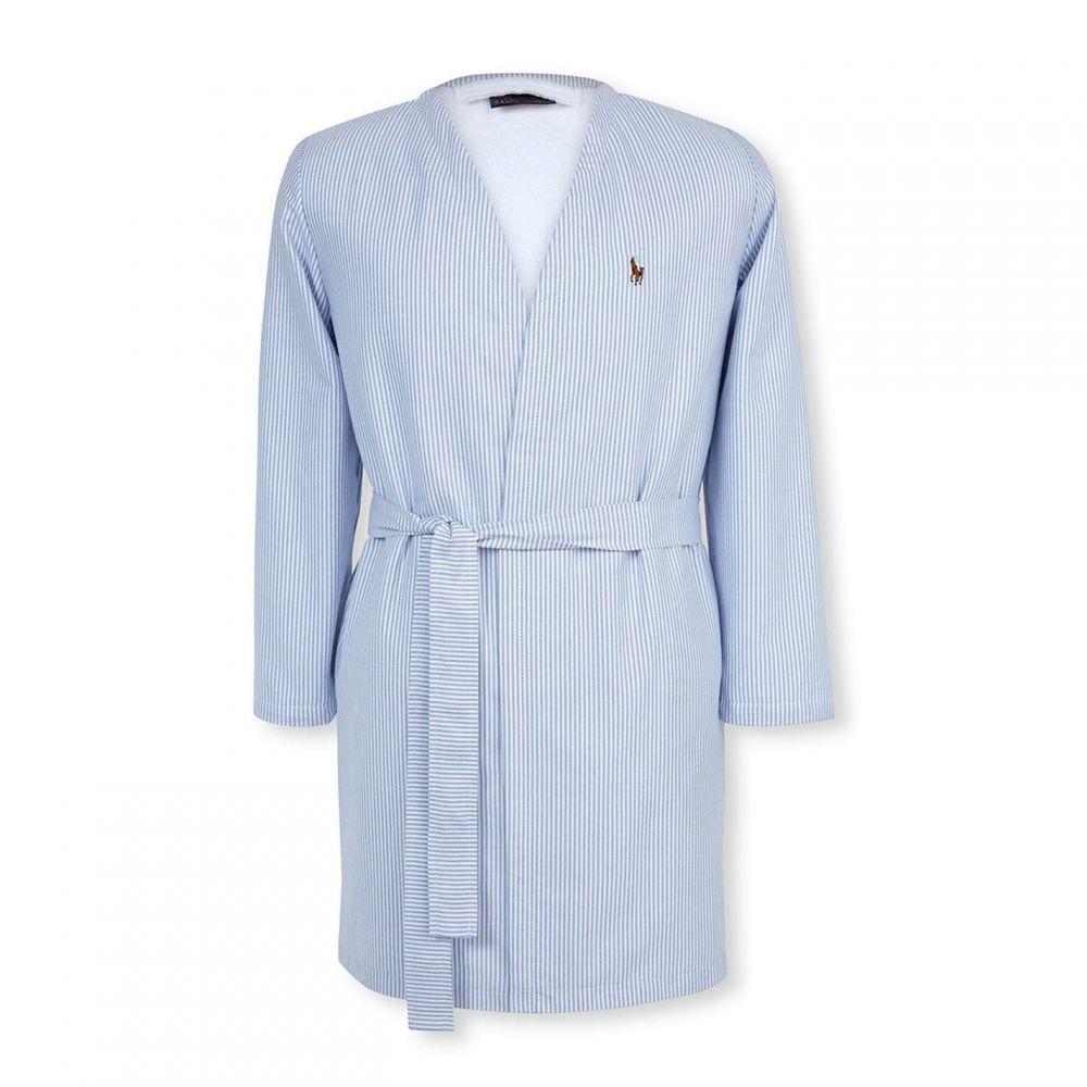 ラルフ ローレン Ralph Lauren レディース ガウン・バスローブ インナー・下着【Oxford Robe】Blue