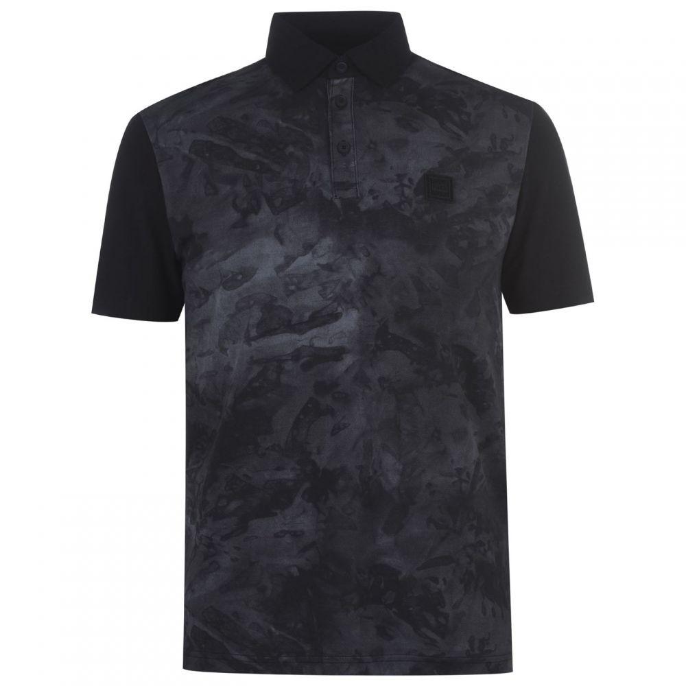ヒューゴ ボス BOSS メンズ ポロシャツ トップス【Camo Polo Shirt】Black