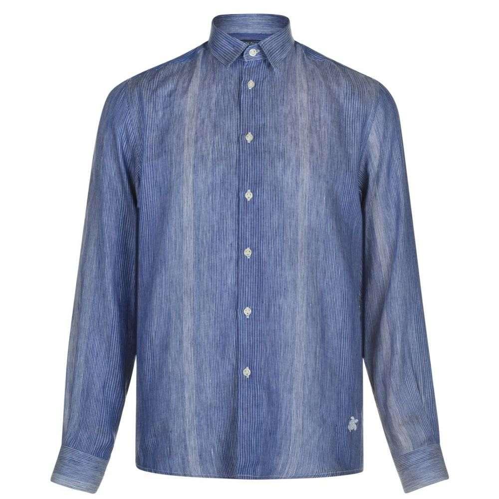 ヴィルブレクイン VILEBREQUIN メンズ シャツ トップス【Caracal Shirt】Bleu Marine