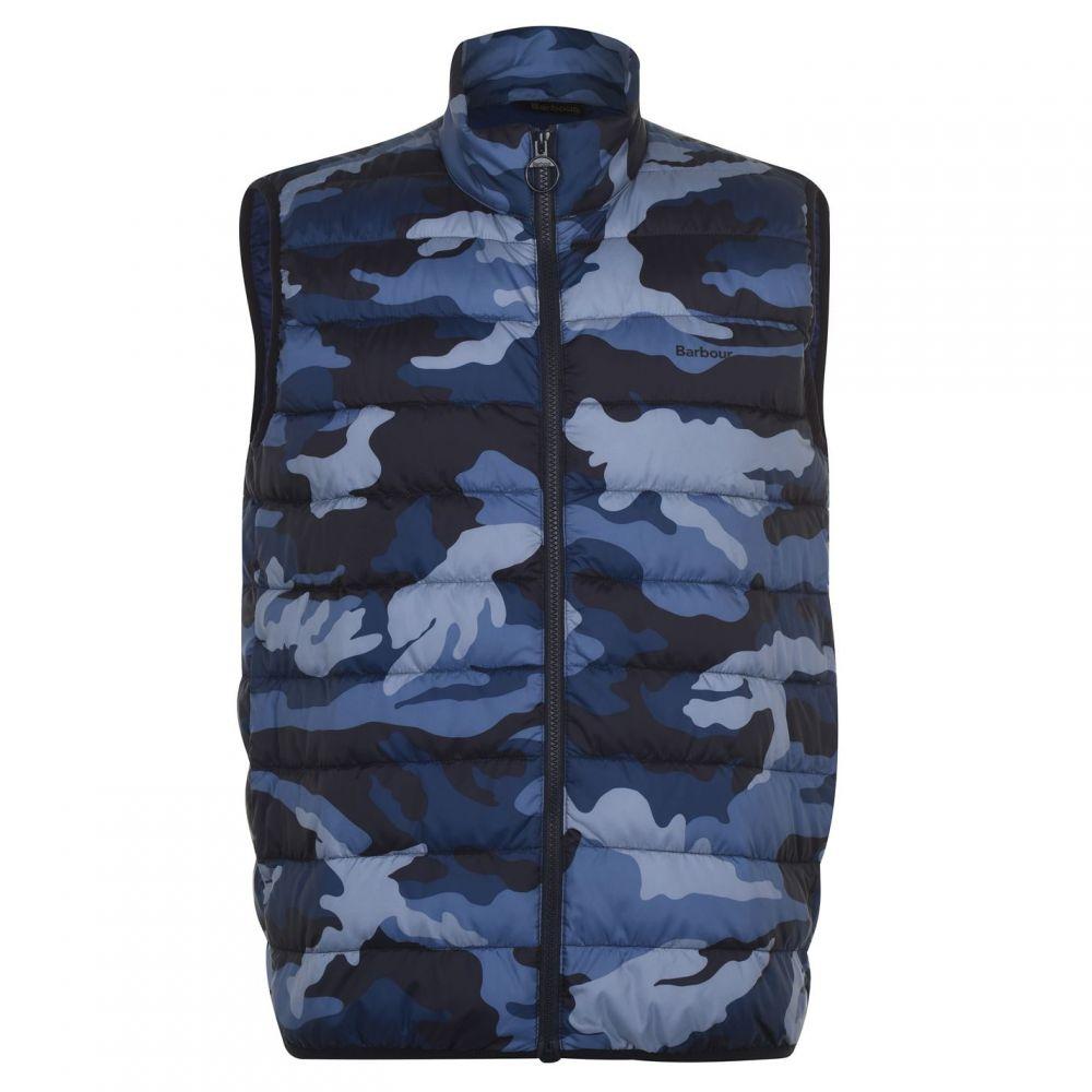 バブアー Barbour Lifestyle メンズ ベスト・ジレ トップス【Blue Camouflage Gilet】Camo