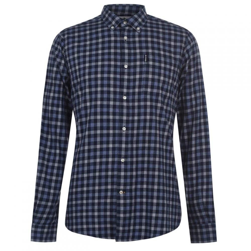 バブアー Barbour Lifestyle メンズ シャツ トップス【Barbour Gingham Tailored Shirt】Indigo