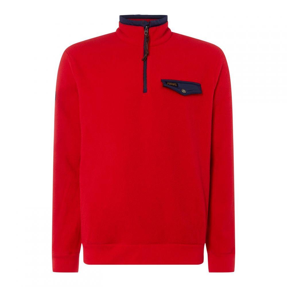 ラルフ ローレン Polo Ralph Lauren メンズ スウェット・トレーナー トップス【Vintage Funnel Sweatshirt】RL Red