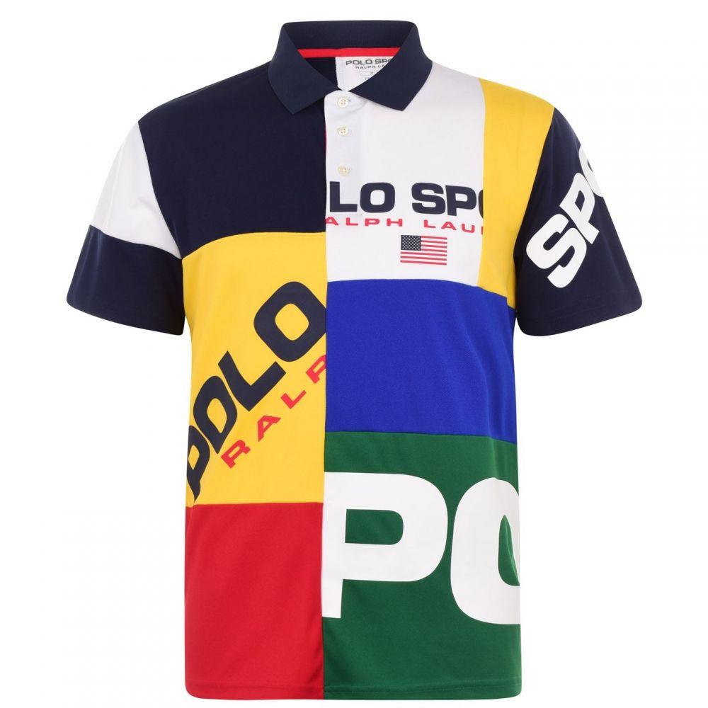 ラルフ ローレン POLO RALPH LAUREN メンズ ポロシャツ トップス【Sport Polo Multi Polo Shirt】JerryGreenMulti