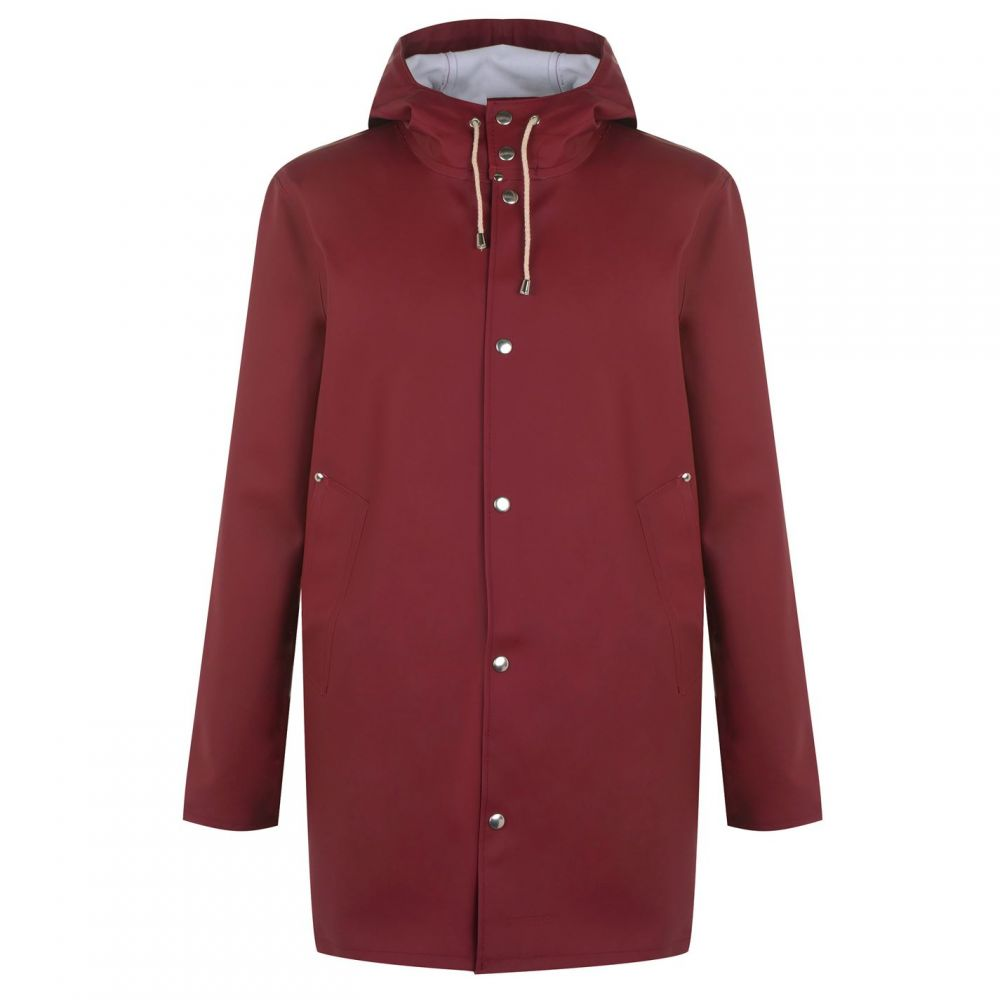 ストゥッテルハイム Stutterheim メンズ レインコート アウター【Raincoat】Burgundy