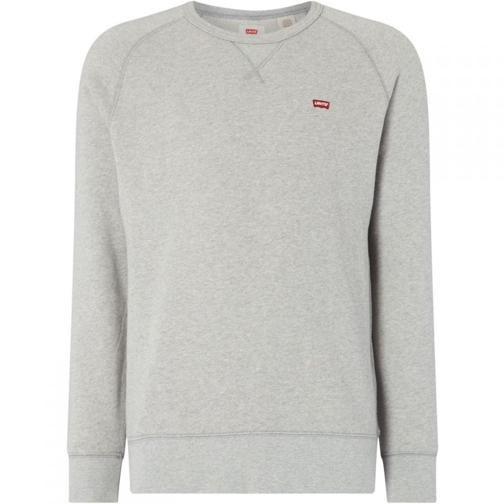 リーバイス Levis メンズ スウェット・トレーナー トップス【Small Logo Crew Neck Sweatshirt】Grey